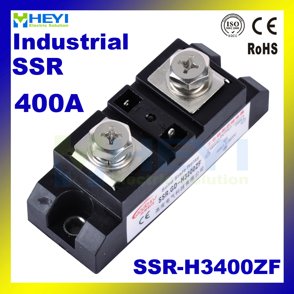 Factory supply SSR-H3400ZF 400A Industrial Solid State Relay