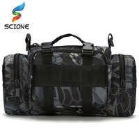 Top Outdoor Military Tactical Waist Bag Waterproof Nylon Camping Hiking Backpack Pouch Hand Bag mochila military bolsa