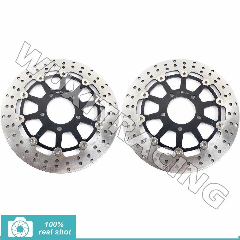 Front Brake Discs Rotors for SUZUKI GSX 600 750 F Katana 03-06 05 GSF 650 Bandit S ABS 04-06 SV 650 S 03-12 07 08 09 10 11 12