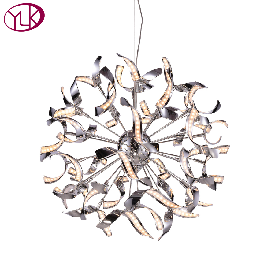 New Modern LED Chandelier Lighting For Living Room Creative Design Home Decoration Hanging Lighting Fixture Brief LED Lamps modern hanging garden of plants lamp nordic creative chandelier lighting without plants and flowers nature home decoration