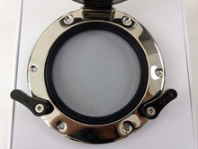 8 Inch 200mm 316L Stainless Steel Round Shape Opening Portlight Porthole Window Hatch For Marine Boat Yacht