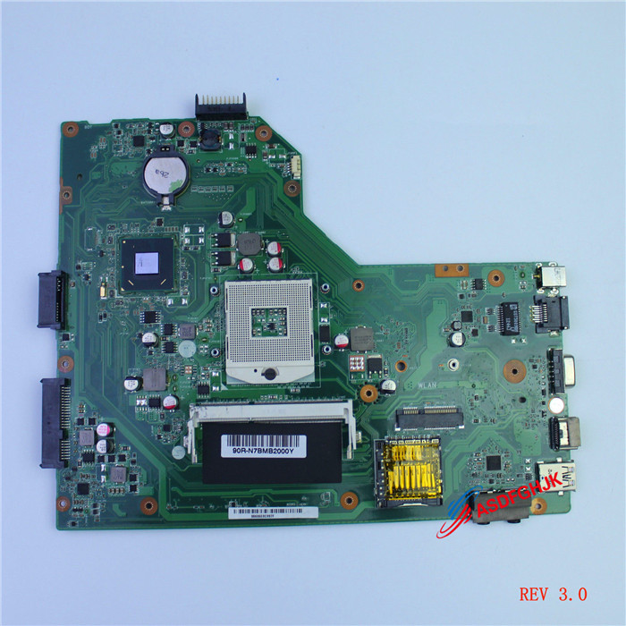 Original For <font><b>ASUS</b></font> K54L X54L <font><b>X54H</b></font> Laptop <font><b>Motherboard</b></font> rev 3.0 Mainboard 60-N7BMB2200 Fully tested image