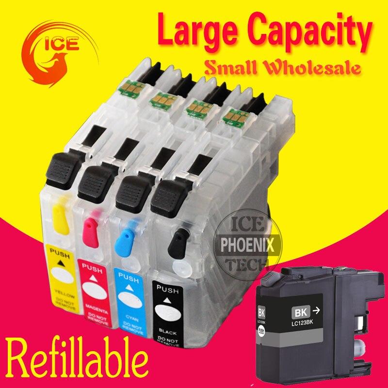 Для смартфона Brother DCP-J552DW J552DW J752DW J4110DW J552 J752 J4110 DCP-J752DW картриджи LC123