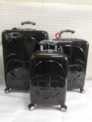 CARRYLOVE perfetto ABS + PC 20/24/28 pollici Del Fumetto darth vader Trolley Spinner di marca di Alta qualità di Viaggio valigia