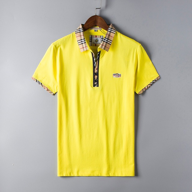 Solid Homme Brand Men Polo Shirt Cotton Short-sleeved Letters Coton V-neck Sale High Quality Fashion Ralphmen Crocodile Real