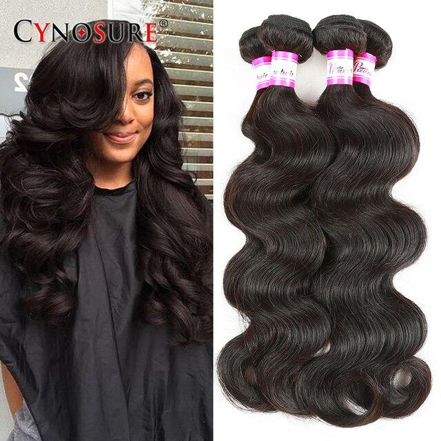 7A Brazilian Virgin Hair Body Wave 4 Bundles Unprocessed Brazilian Body Wave Soft Brazilian Hair Weave Bundles 100% Human Hair