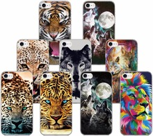Tiger Wolf Fundas TPU Phone Case For Wiko View 2 Go XL / U Feel Lite / Lenny 5 4 Jerry Tommy Harry Sunny 2 3 Plus Cover Coque