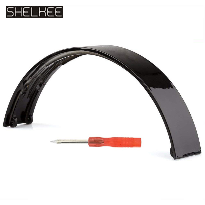 SHELKEE Replacement top Headband pad cushion Replacement Headband pad for Beats Solo By Dr Dre Wireless Headphone Repair parts