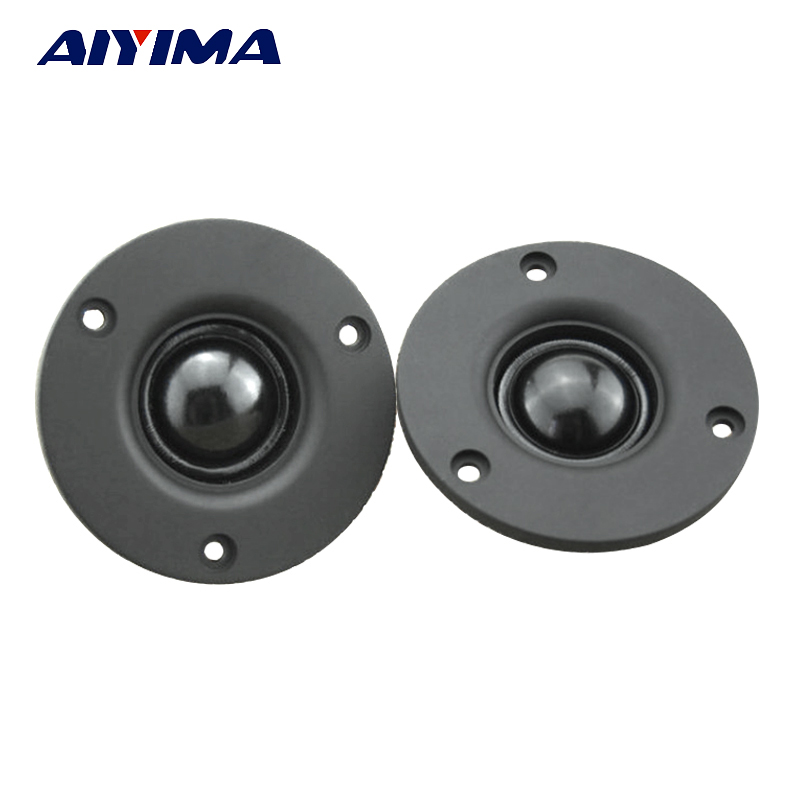 Aiyima 2pcs 3 inch Hifi speaker treble tweeter fever horn 4ohm 8ohm 20W High power tweeter board 74mm