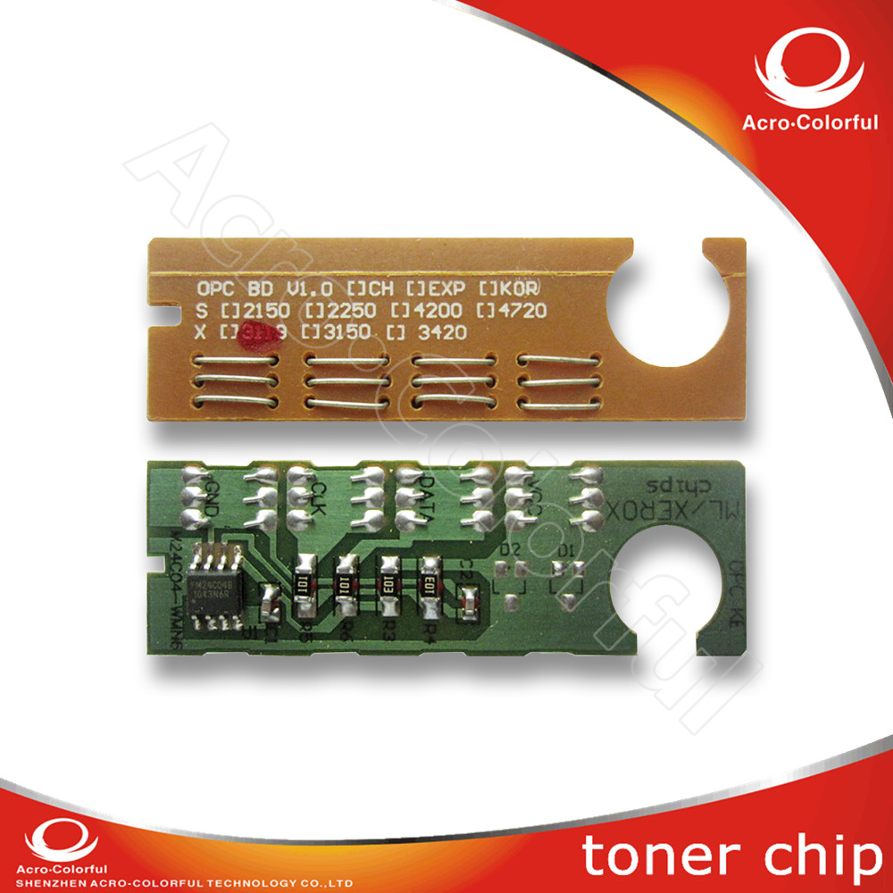 Compatible toner cartridge chip for xerox workcentre wc 3119 auto reset chip 013r00625 laser printer spare parts