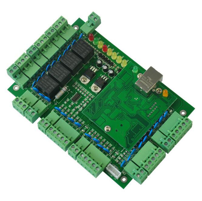 TCP/IP four Door access control,32-bit ARM CPU,support powerfull time Attendance / access / Web / access alarm function sn:T04 балдахин в кроватку fairy цвет белый 300 см х 170 см