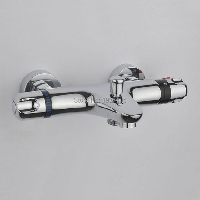 High Quality thermostatic mixing valve Temperature Control Shower ...