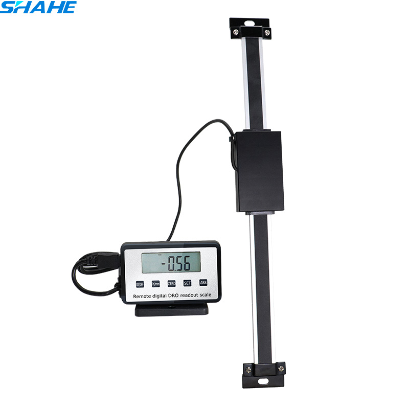 SHAHE 0-500mm Readout Digital Linear Scale with LCD Display Base External Display ruler digital readout remote display цена 2017