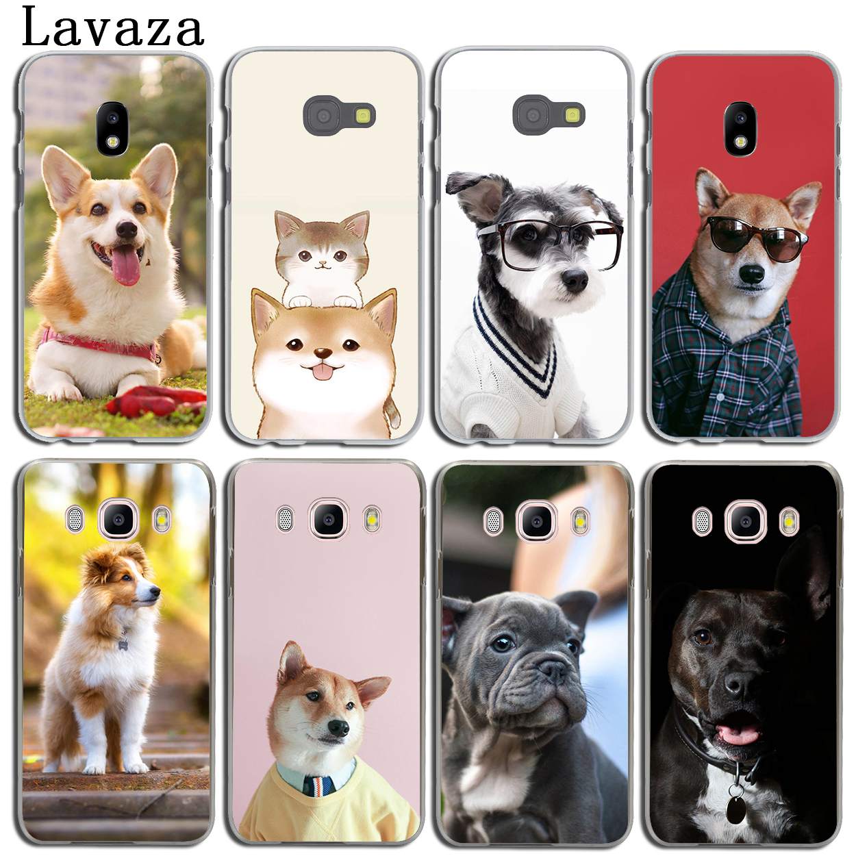 Lavaza Cute French Bulldog corgi Golden Dog Phone Case for Samsung Galaxy J3 J1 J2 J7 J5 2015 2016 2017 J2 Pro Ace J7 J5 Prime