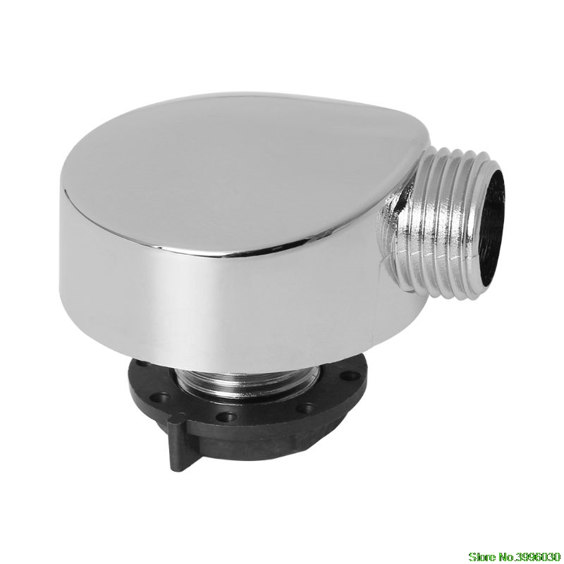 Chromed Plastic Shower Connector Bathtub Shower Cabin Room Accessories Parts