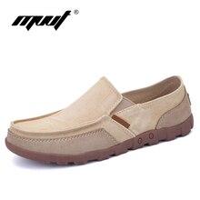 Nueva Summer Classic moda hombres zapatos casual zapatos planos de los hombres de deslizamiento en los zapatos de lona transpirable Casual Zapatos Hombre