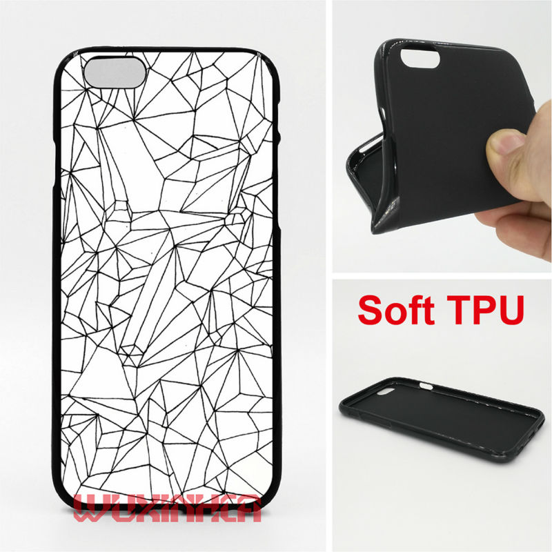 Cracked White Marble Phone Cases Soft TPU For iPhone 6 7 Plus SE 5S 4S Touch 6 For Samsung S8 Plus S7 S6 Edge S5 2016 J3 J5 A5