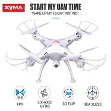 Syma X5SW HD Video Camera Aerial RC Drone FPV Wifi 2.4G 4CH 6 Axis Quadcopter Remote Control Helicopter UFO Toys For Children