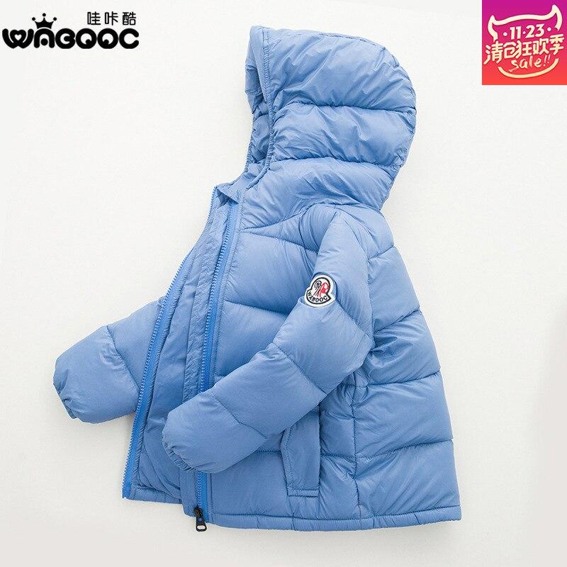 2016 New Kids Children Down Jacket Coat Children s Winter Jackets Boys Thickened Winter Coats Size