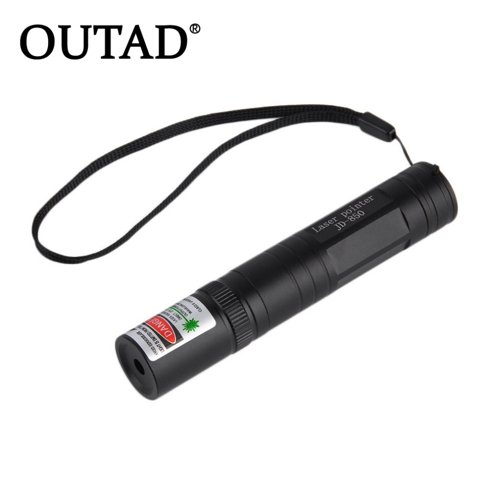 OUTAD High quality Newest 10mile Laser Pointer Pen 532nm 850 Visible Beam Bright Light High Quality In Stock