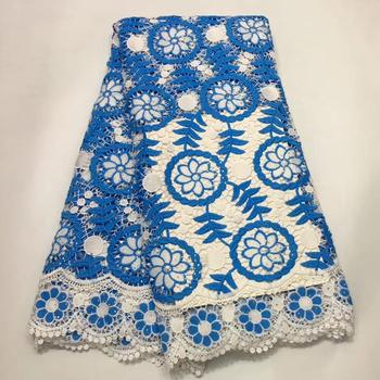 2019 French net ballet lace fabric Nigerian wedding embroidery African lace fabric latest hot selling Nigerian yarn lace free de