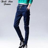 Vintage Boyfriends Loose Harem Jeans Plus Size Women Pants 6XL 7XL 16012505