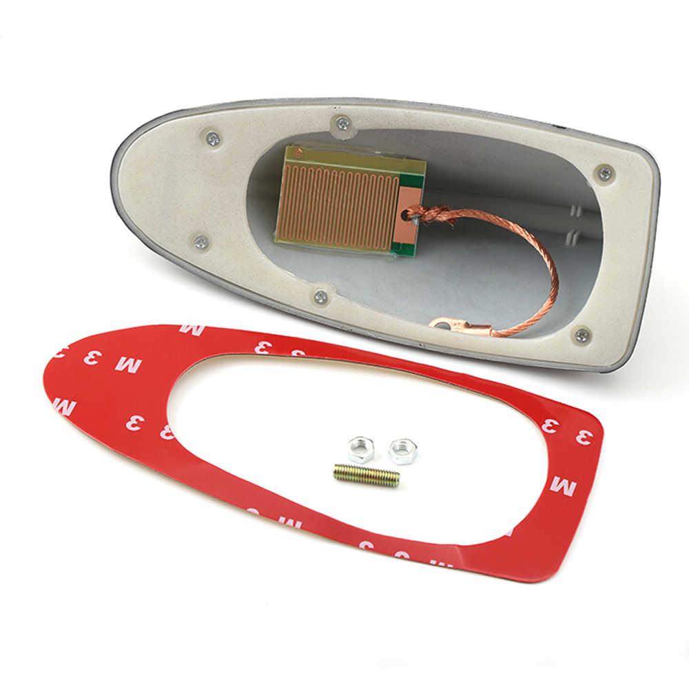 Antenas de coche Antena de aleta de tiburón Auto señal de Radio antenas de techo para el estilo universal del coche del modelo