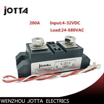 SSR-200A Industrial SSR 200A Input 3-32VDC;Output 24-680VAC industrial ssr relay 200a jc 20130709 1