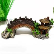 Resin Crafts Decoration Bridge Aquarium Accessories Micro Landscape Arch