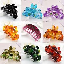 1PC Large Women Plastic Hair Claw Clamp Clip Hairpin Banana Grips Slides Accessories vintage hair clip comb