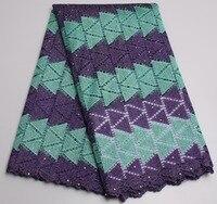 Venta caliente barato Encaje s púrpura y Teal wedding el vestido nupcial Africana Encaje con piedras intersperse xy04k-1