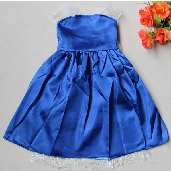 DB23655 Children Girl princess sofia dress-13