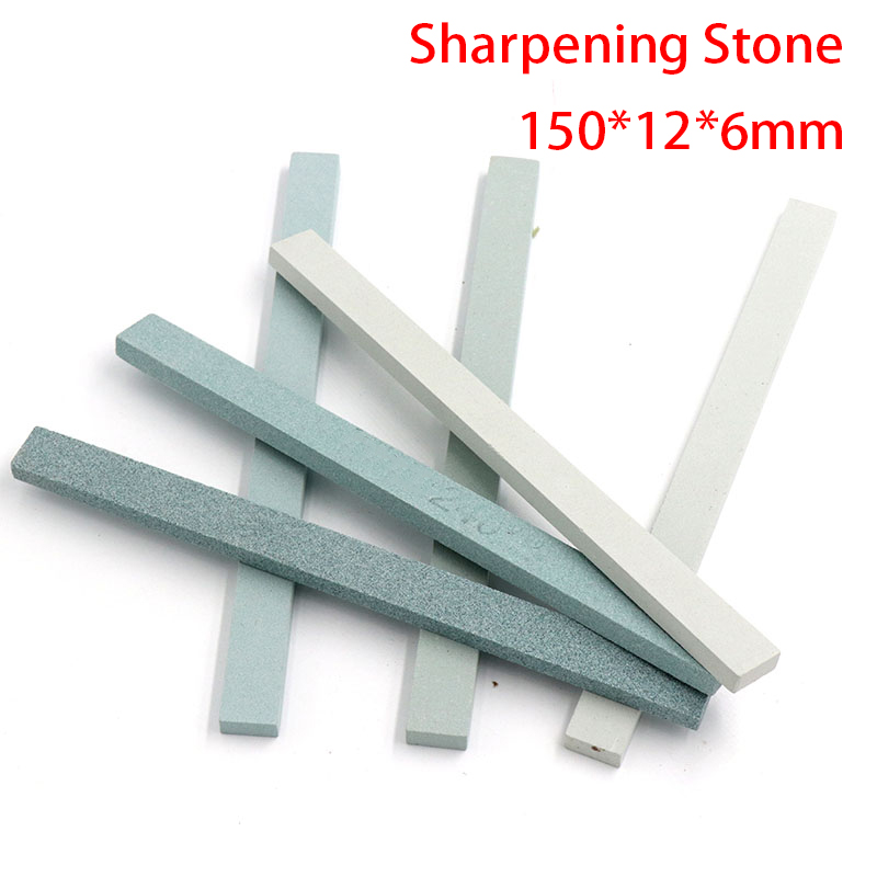 1Pcs 150x12x6 Knife Sharpener Sharpening Stone Green Silicone Carbide Oil Fine Polish Grinding Jade Ceramic Grit Whetstone
