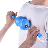 Useful Pain Relief Roller Ball Back Massager Body Spa Fitness Exercise Massage Stick Relaxation Muscle Stimulator