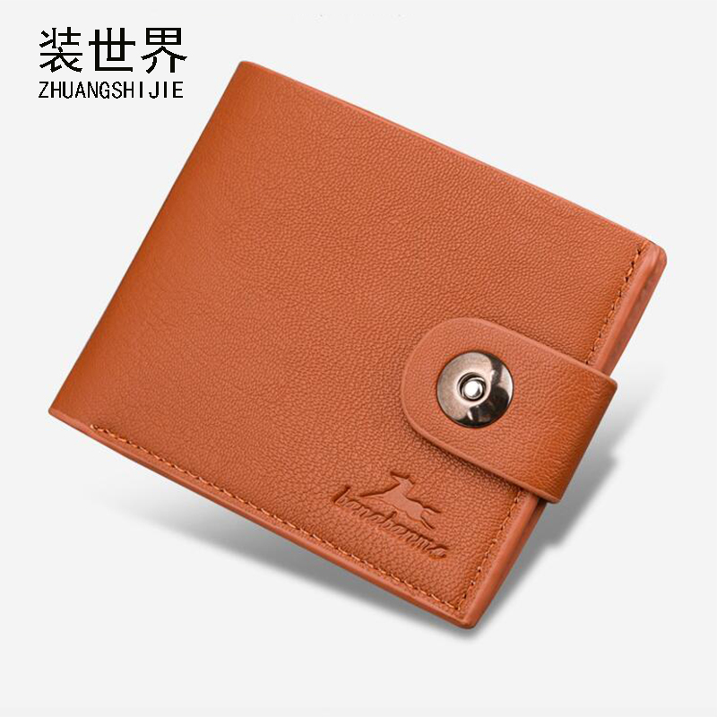 Leather Men Wallets Brand High Quality Design Wallets with Coin Pocket Purses Gift For Men Card Holder Male Purse BB110 hot sale leather men s wallets famous brand casual short purses male small wallets cash card holder high quality money bags 2017