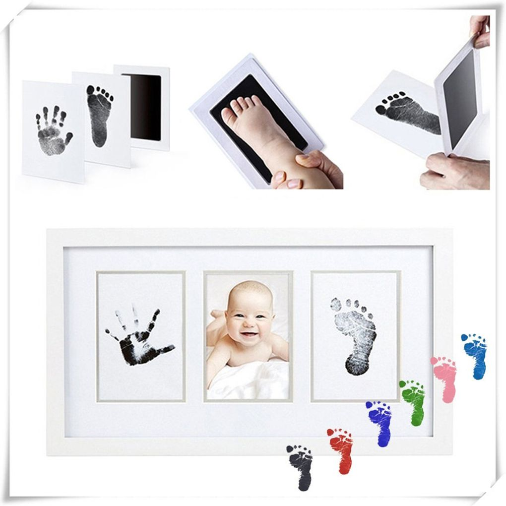 New Baby Infant Non-toxic Baby Handprint Footprint Imprint Inkpad Casting Parent-child Hand Inkpad Fingerprint Watermark