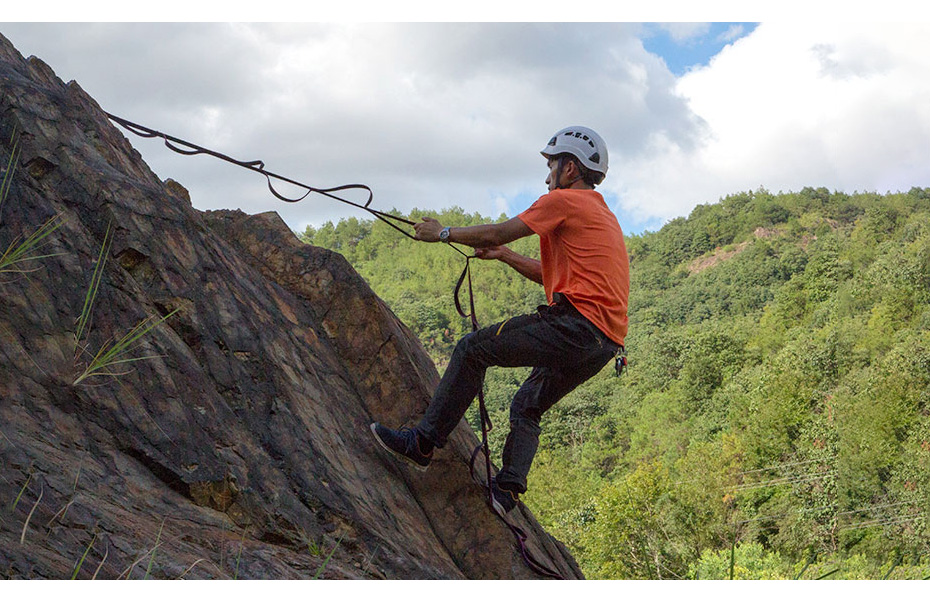 Xinda profissional montanha deck escada corda escada