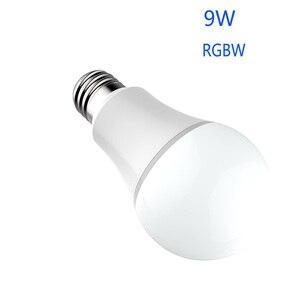 Image 2 - Inteligentnych produktów do domu Wifi inteligentny miernik żarówka do amazon alexa google domu sterowanie głosem żarówka led RGBW inteligentny pilot zdalnego sterowania