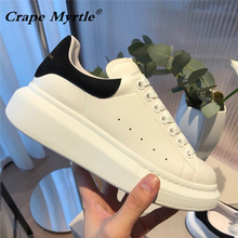 2019 new female leather shoe Big size 34-44 women's shoe wild personality shoes designer fashion brand high quality women shoes