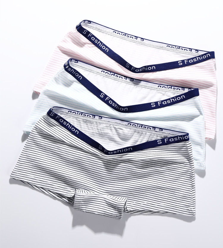 4PCS/LOT Cotton   Panties   Women's Boyshort New Female Breathable Pants Ladies Underwear Girls Underpant Fat Boxer Shorts