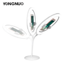 YONGNUO YN128 Camera Photo/Studio/Phone/Video 128 LED Ring Light 3200K-5500K Photography Dimmable Ring Lamp(China)