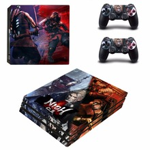 NIOH vinyl Decal Skin Sticker For Sony Playstation 4 PS4 Pro promotion Console +2Pcs Controller Film Stickers