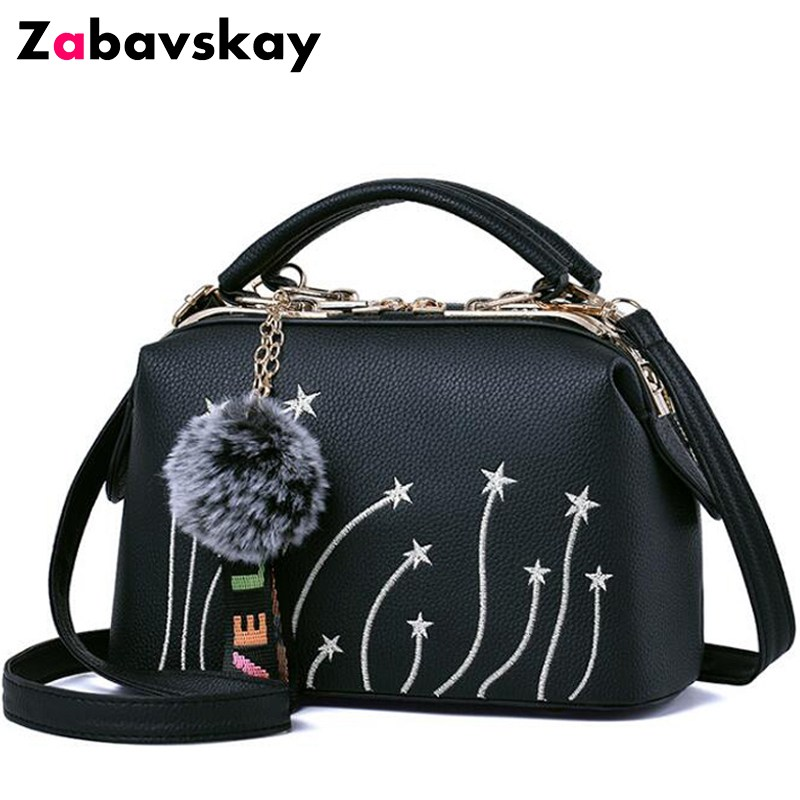 2018 brand women shoulder crossbody bag female messenger bags high quality retro ladies handbag printing large