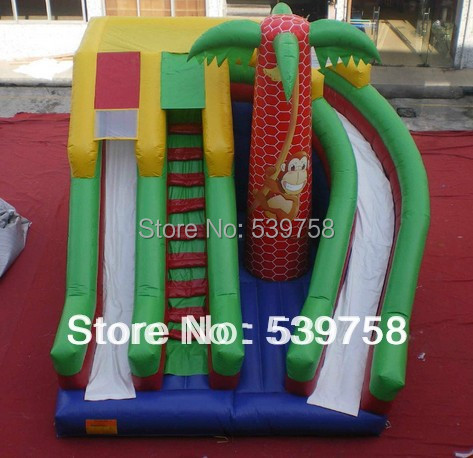 Factory direct inflatable fun city, inflatable toys,Inflatable slide, jungle slide  цены
