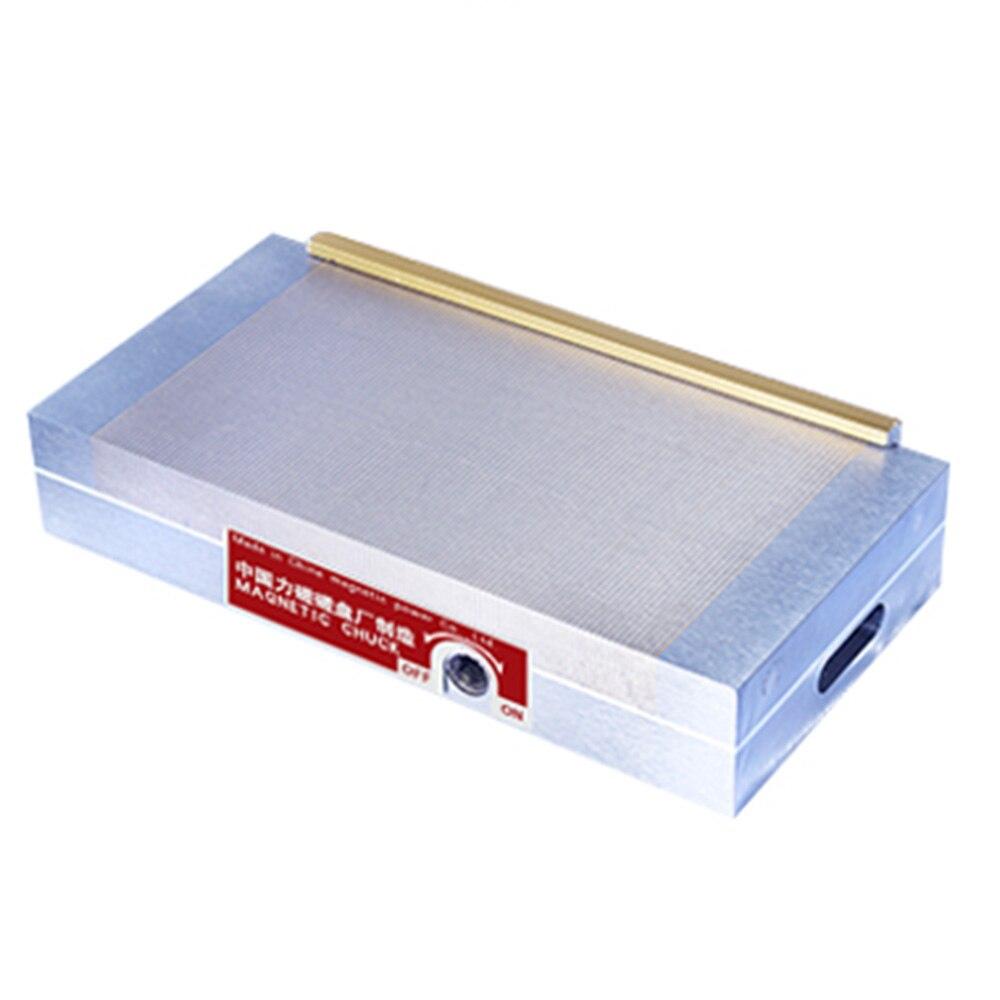 Mandrin magnétique de poteau fin usinant le mandrin magnétique Permanent de meuleuse de Surface de 6*12 pouces (150*300) pour la rectifieuse