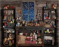 Christmas Store Shop Snow Window Wood Shed Mechanic Tools background Vinyl cloth High quality Computer print party backdrop