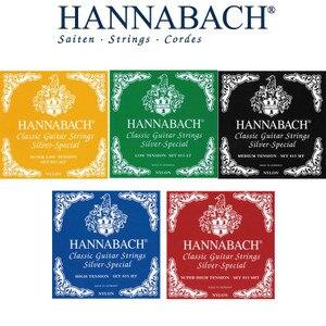 Hannabach Nylon Konzertgitarren Saiten, 600 & 800 silber Überzogen, 728 nach Maß, 815 silber Spezielle, 825 reinem Gold, 850 PSP