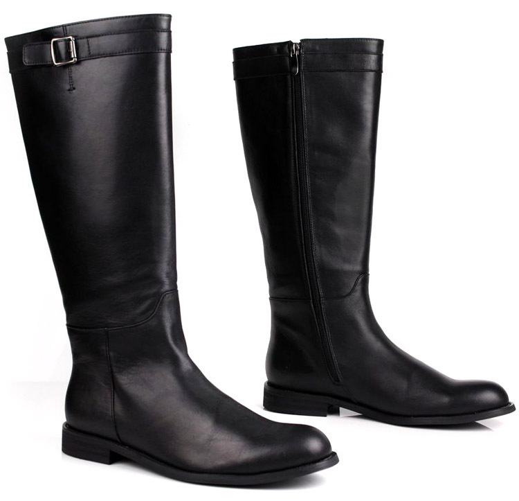 Aliexpress.com : Buy High quality men leather long boots male