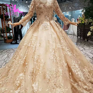 Image 3 - AIJINGYU Wedding Guest Dresses Muslim Gowns In Dubai Cape Long Korean engagement Luxury Crystal Gown Wedding Grown