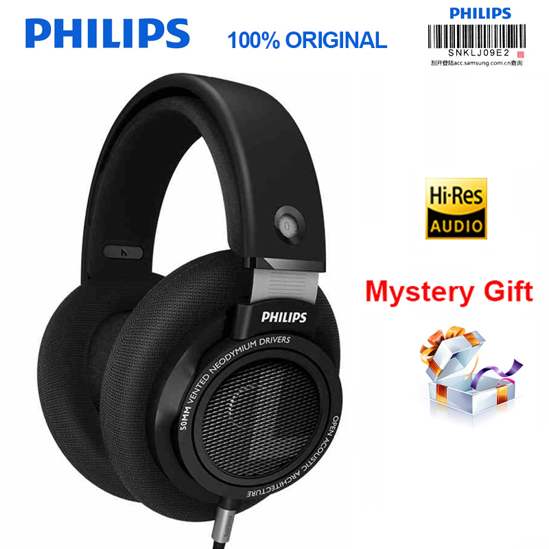 Professional Philips SHP9500 Headphones with Active Noise Cancelling 3 meter long HIFI headset for Xiaomi MP3